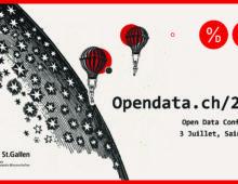 Opendata.ch/2018: 3 juillet